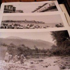 Postales: LOTE DE 10 LAMINAS DE PUEBLOS DE ASTURIAS FOTO LOTY. 1928. Lote 123057299