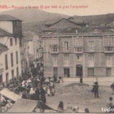 Postales: NAVIA (ASTURIAS) - LA CASA EN LA QUE VIVIO EL GRAN CAMPOAMOR. Lote 125160703