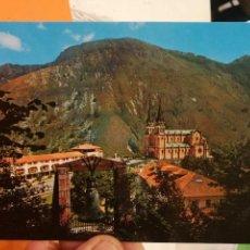 Postales: POSTAL COVADONGA ASTURIAS VISTA GENERAL. Lote 125193523