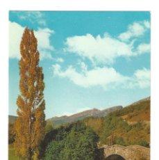 Postales: REINOSA- ALTO CAMPOO.- Nº 244, PUENTE ROMANO DE RIAÑO, FOT. HURTADO. SANTANDER- SIN CIRCULAR . Lote 125198639