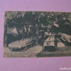 Postales: POSTAL DE VENECIA, MERENDERO DE VERIÑA, GIJON, ASTURIAS. ED. LA FE - GIJON. SIN CIRCULAR. . Lote 125205651