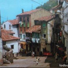 Postales: CUDILLERO - ASTURIAS - CALLE TIPICA. Lote 126531887