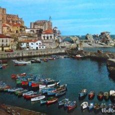 Postales: CASTRO URDIALES - SANTANDER - PUERTO PESQUERO. Lote 126565003