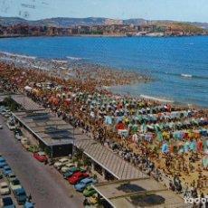 Postales: GIJON - ASTURIAS - PLAYA DE SAN LORENZO. Lote 126565875