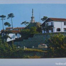 Postales: POSTAL DE COMILLAS ( SANTANDER ) : ESTATUA DEL MARQUES DE COMILLAS. AÑOS 60. Lote 128086123