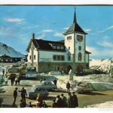 Postales: PAJARES -DEPORTES DE INVIERNO- -ZUAZUA FOTO- COLLADA- ESCRITA EN 1966 15 X 10,5 APROX.. Lote 128110535