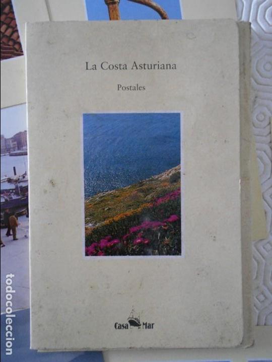 LA COSTA ASTURIANA. POSTALES. CASA DEL MAR. CARPETILLA CON 10 POSTALES EN COLOR. EDICIONES TREA, 199 (Postales - España - Asturias Moderna (desde 1.940))