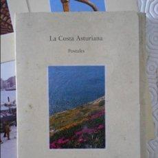 Postales: LA COSTA ASTURIANA. POSTALES. CASA DEL MAR. CARPETILLA CON 10 POSTALES EN COLOR. EDICIONES TREA, 199. Lote 128205399
