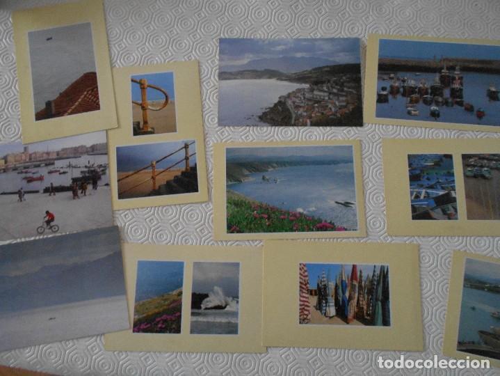 Postales: LA COSTA ASTURIANA. POSTALES. CASA DEL MAR. CARPETILLA CON 10 POSTALES EN COLOR. EDICIONES TREA, 199 - Foto 2 - 128205399