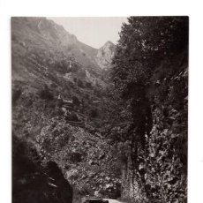 Postales: ASTURIAS.- CARRETERA DEL PONTÓN. LOS BEYOS - FOTO COLLADA. Lote 128538535