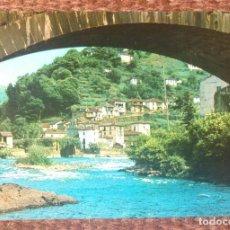 Postales: CANGAS DEL NARCEA - VISTA DE AMBASAGUAS. Lote 129291723