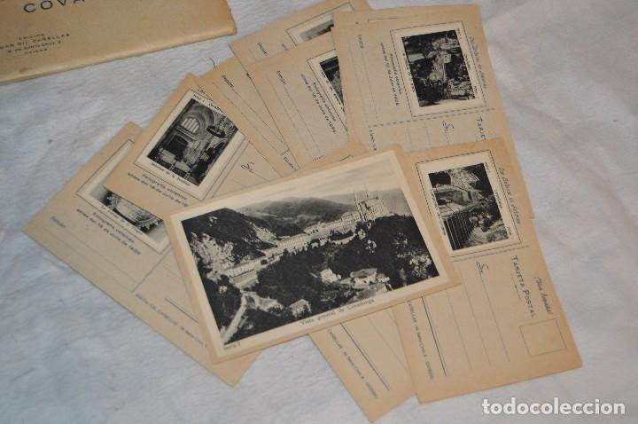 VINTAGE - PRECIOSO SET TARJETAS POSTALES - SERIE 1 - COVADONGA - LAS BELLEZAS DE ASTURIAS - ENVÍO24H (Postales - España - Asturias Moderna (desde 1.940))