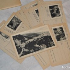 Postales: VINTAGE - PRECIOSO SET TARJETAS POSTALES - SERIE 1 - COVADONGA - LAS BELLEZAS DE ASTURIAS - ENVÍO24H. Lote 129473735