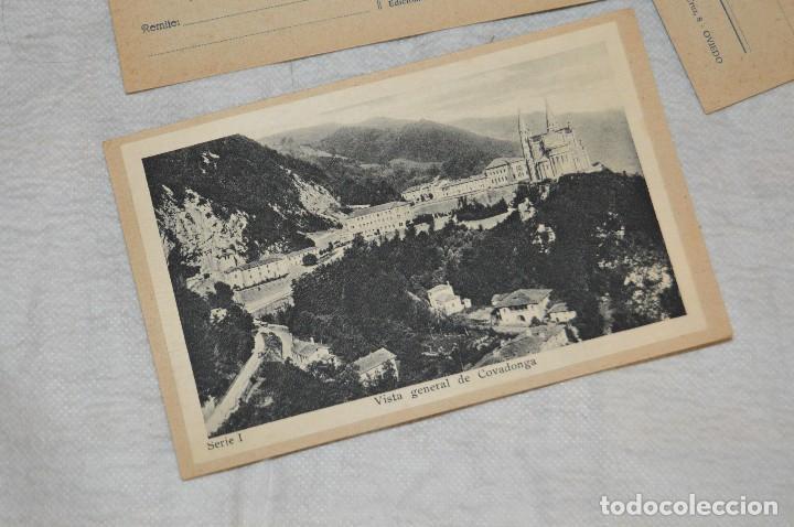Postales: VINTAGE - PRECIOSO SET TARJETAS POSTALES - SERIE 1 - COVADONGA - LAS BELLEZAS DE ASTURIAS - ENVÍO24H - Foto 5 - 129473735