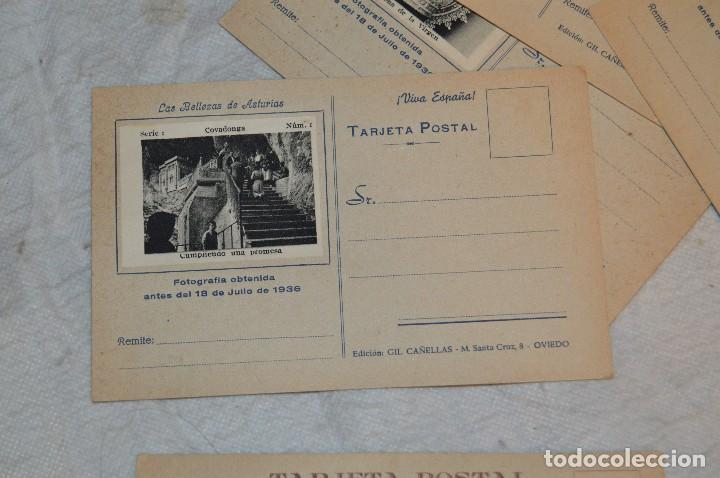 Postales: VINTAGE - PRECIOSO SET TARJETAS POSTALES - SERIE 1 - COVADONGA - LAS BELLEZAS DE ASTURIAS - ENVÍO24H - Foto 7 - 129473735