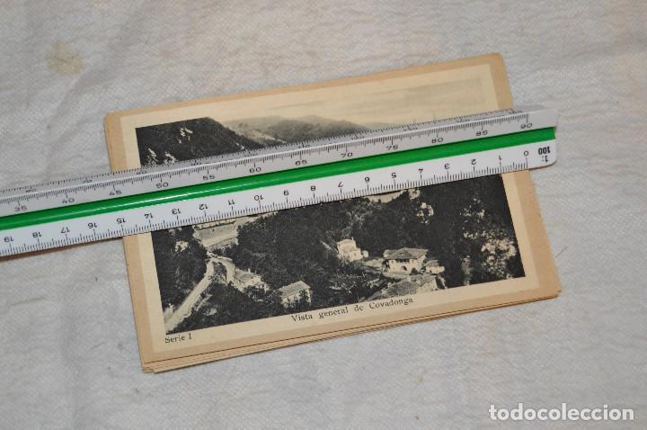 Postales: VINTAGE - PRECIOSO SET TARJETAS POSTALES - SERIE 1 - COVADONGA - LAS BELLEZAS DE ASTURIAS - ENVÍO24H - Foto 9 - 129473735