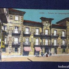 Postales: POSTAL AVILÉS ASTURIAS PALACIO CAMPOSAGRADO NO ESCRITA NO CIRCULADA COLOREADA. Lote 130154267