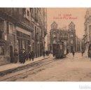Postales: GIJON. (ASTURIAS).- CALLE DEL PI Y MARGALL. ED. F. MATOS.. Lote 131752378