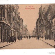 Postales: GIJON. (ASTURIAS).- CALLE CORRIDA. ED. F. MATOS.. Lote 131752866