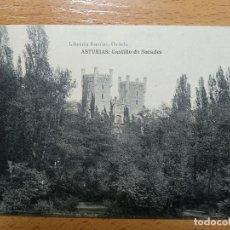 Postales: ASTURIAS. CASTILLO DE SECADES. ( CALDAS ) ED.LIBR. ESCOLAR, OVIEDO. Lote 132842554