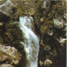 Postales: == A1244 - POSTAL - PICOS DE EUROPA - TIELVE - CASCADA EN EL RIO DUJE. Lote 132962718