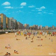 Postales: GIJON Nº 136 PLAYA DE MIAMI .- EDICIONES ARRIBAS . Lote 133353686