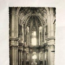 Postales: MALAGA (ANDALUCÍA) POSTAL NO.298 ABSIDE Y ALTAR MAYOR DE LA SANTA IGLESIA CATEDRAL (H.1950?). Lote 133473293