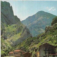 Postales: == PJ876 - POSTAL - RUTA DESFILADERO DEL CARES - EMBALSE Y PARADOR DE PONCEBOS. Lote 133607666