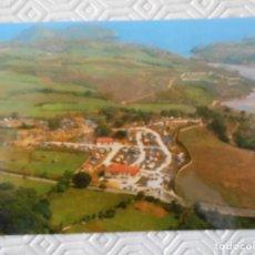 Postales: CAMPING LAS CONCHAS. POO DE LLANES. POSTAL. AÑO 1989.. Lote 133891190