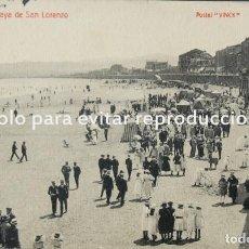 Postales: FOTOGRAFÍA ANTIGUA L. VINCK GIJÓN.TIENE UNOS BASTANTES AÑOS. Lote 134152218