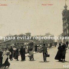 Postales: FOTOGRAFÍA ANTIGUA L. VINCK GIJÓN.TIENE UNOS BASTANTES AÑOS. Lote 134152570