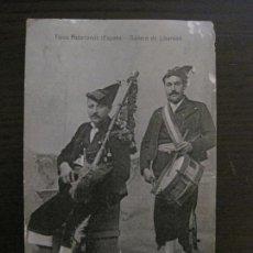 Postales: ASTURIAS - TIPOS ASTURIANOS - GAITERO DE LIBARDON - VER REVERSO - (53.296). Lote 135443410