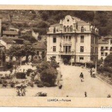 Postales: LUARCA - PARQUE - FOTO GÓMEZ. Lote 135888762