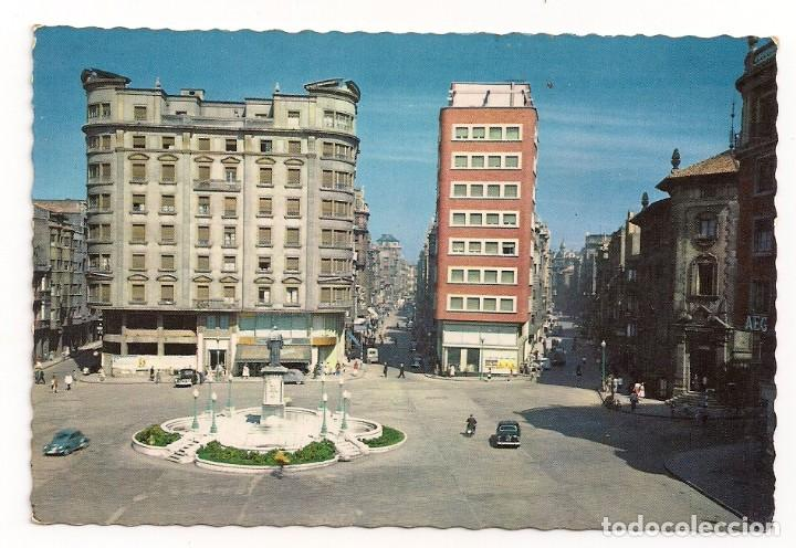 GIJÓN (OVIEDO) - PLAZA DEL SEIS DE AGOSTO - Nº1208 EDICIONES GARCÍA GARRABELLA (Postales - España - Asturias Moderna (desde 1.940))