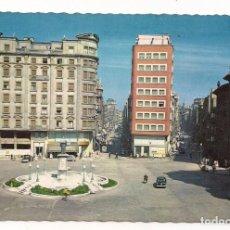 Postales: GIJÓN (OVIEDO) - PLAZA DEL SEIS DE AGOSTO - Nº1208 EDICIONES GARCÍA GARRABELLA. Lote 135895494
