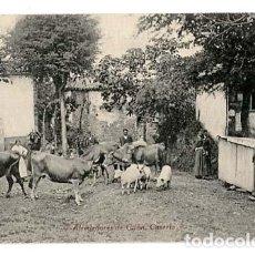 Postales: ASTURIAS GIJON ALREDEDORES, CASEROP ED. F. MATOS. SIN CIRCULAR. Lote 136892458