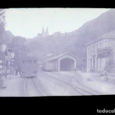 Postales: COVADONGA - CLICHE ORIGINAL - NEGATIVO EN CELULOIDE - AÑOS 1900-1920 - FOTOTIP. THOMAS, BARCELONA. Lote 137688222