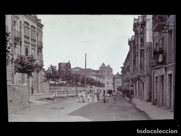 LLANES - CLICHE ORIGINAL - NEGATIVO EN CELULOIDE - AÑOS 1900-1920 - FOTOTIP. THOMAS, BARCELONA (Postales - España - Asturias Antigua (hasta 1.939))