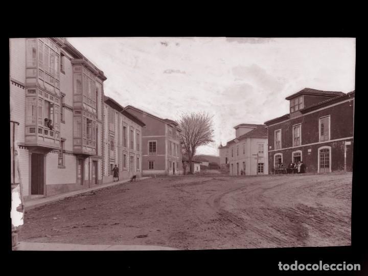 SOTO DEL BARCO - CLICHE ORIGINAL - NEGATIVO EN CELULOIDE-1900-1920- FOTOTIP. THOMAS, BARCELONA (Postales - España - Asturias Antigua (hasta 1.939))