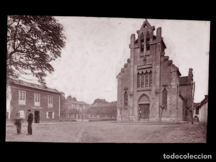 SAN JUAN DE LA ARENA - CLICHE ORIGINAL - NEGATIVO EN CELULOIDE-1900-1920- FOTOTIP. THOMAS, BARCELONA (Postales - España - Asturias Antigua (hasta 1.939))