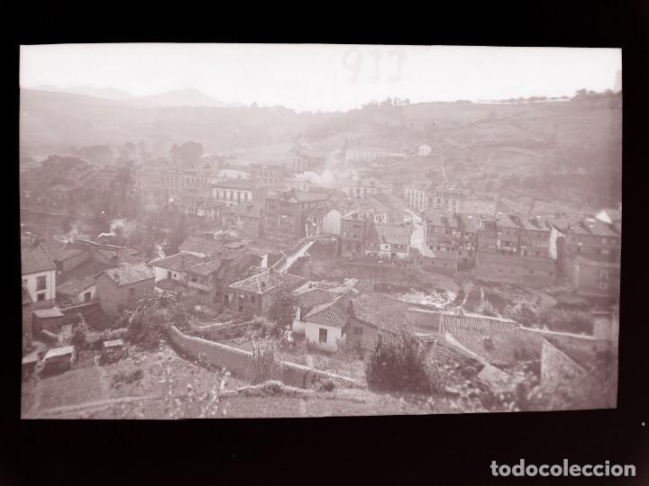 INFIESTO - CLICHE ORIGINAL - NEGATIVO EN CELULOIDE - AÑOS 1900-1920 - FOTOTIP. THOMAS, BARCELONA (Postales - España - Asturias Antigua (hasta 1.939))