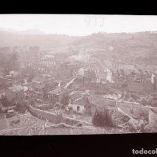 Postales: INFIESTO - CLICHE ORIGINAL - NEGATIVO EN CELULOIDE - AÑOS 1900-1920 - FOTOTIP. THOMAS, BARCELONA. Lote 137689250