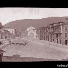 Postales: INFIESTO - CLICHE ORIGINAL - NEGATIVO EN CELULOIDE - AÑOS 1900-1920 - FOTOTIP. THOMAS, BARCELONA. Lote 137689274