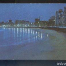 Cartes Postales: GIJÓN. *PLAYA DE SAN LORENZO. NOCTURNA* ED. ARRIBAS Nº 92. CIRCULADA 1974.. Lote 140264694