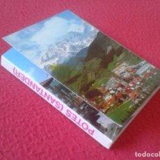 Postales: BLOC ACORDEÓN TACO TIRA DE IMÁGENES FOTOS PHOTOS FOTOGRAFÍAS PICOS EUROPA POTES SANTANDER CANTABRIA . Lote 140774362