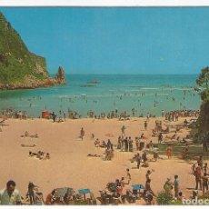 Postales: LA FRANCA (COLOMBRES- ASTURIAS).- CONSEJO DE RIBADEDEVA. PLAYA DE LA FRANCA. Lote 140912198