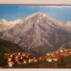 Postales: NO. 47 PICOS DE EUROPA. SOTRES. AL FONDO MACIZO CENTRAL. Lote 141802548