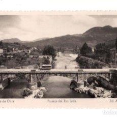 Postales: CANGAS DE ONIS (ASTURIAS).- PAISAJE RIO SELLA. Lote 141834894