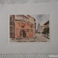 Postales: LA BALESQUIDA. OVIEDO. ASTURIAS A LA ACUARELA. ACUARELAS DE RIONDA. EDITA: ACUARIO. 1997.. Lote 142069226