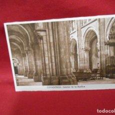 Postales: ANTIGUA POSTAL - COVADONGA - INTERIOR DE LA BASILICA - SIN CIRCULAR -. Lote 142085126